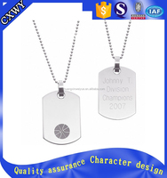 2016 china promotional gifts metal blank dog name tags
