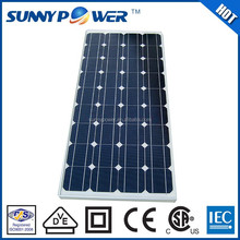 MINI 120 watt solar panel With CSA(UL1703) for sale