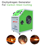 High speed automatic HHO metal cutting hydrogen generator gas cutting set