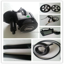8FUN/Bafang Crank/Mid motor BBS02 48v750w mid/central drive electric bicycles conversion kit