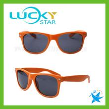 Orange wayfarer sunglasses Muti-Color Design Promotional Sunglasses BEST SALE