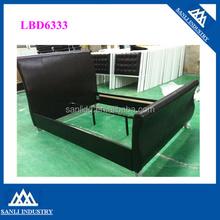 bedroom furniture,double deeker faux leather bed LBD6333