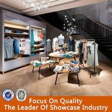 Luxury fashion clothes shop decoration furniture/clothes shop counters