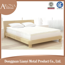 Eco Friendly double roll compressed soft Egg-Shaped memory foam mattress topper