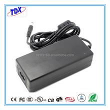 Power Supply 60W Power Adapter 12V/ 15V/ 18V/19V /24V AC DC Laptop Adapter with UL CE SAA GS CB for notebook/LCD/Printer/E-bike