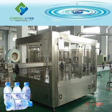 Complete line of automatic mineral water production / filling