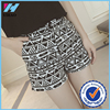 China online shopping women print shorts in white and black