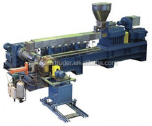 Two stage plastic PVC recycling granules making machine