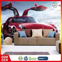 100% Warranty Reasonable Price Latest Designs Car Design/Style Wallpaper In Uae For Living Room