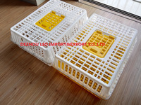 Top hatch best quality chicken crate for transportation plastic crate