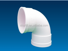 Professional Produce 90 degree elbow, PVC pipe Fitting for water sewage