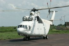 MI-26 T HEAVY LOAD TRANSPORT HELICOPTER