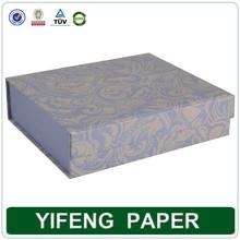cheap cardboard folding box with magnetic closure, wonderful folding cardboard gifts case box sell
