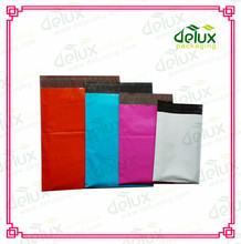 Waterproof plastic post shipping bags