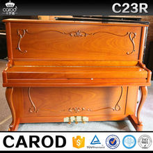direct supplier children wooden piano size with piano cover and chair