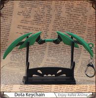 Hot Selling New Arrival Green Keychain For Dota2 Pendants