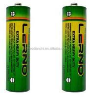 2pcs-blister pack heavy duty 1.5v battery R6/UM-3/AA ce dry cell battery BV