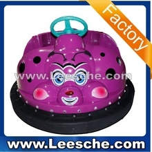 LSJQ-248 LSJQ-248-1 popular coin operated Beetle bumper car for game center playground with LED light
