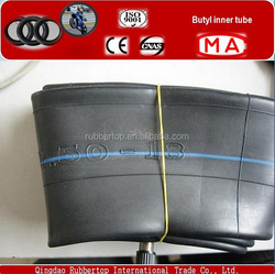 good quality manufacturers Korea tovic butyl inner tube used motorcycle 4.10/3.50-8