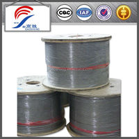 Galvanized steel wire rope 6x37 for ship and bridge