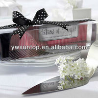 """High Quality """"Slice of Style"""" Stainless Steel High Heel Cake Server Wedding Gifts"""