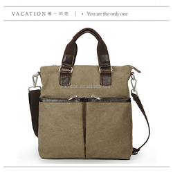 2015 canvas fabric long strap chinese plain handbag