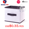 Non woven foldable storage box, drawer organizer, fabric storage box promotional items