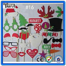 Stick Mustache Photo Booth Props Funny Wedding Birthday Favor With Colorful Props