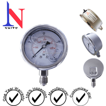 "2.5"" glycerin filled pressure gauge, hydraulic oil pressure gauges"