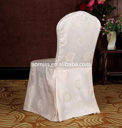 satin chair cover chair cover factory jacquard chair cover