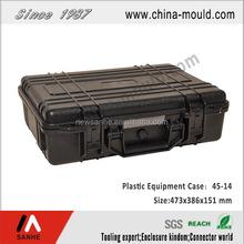 abs waterproof shockproof case with pu foam