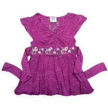 ( h1551) Bambini vestiti per la ragazza, bella, puro cotone, abito estivo senza maniche