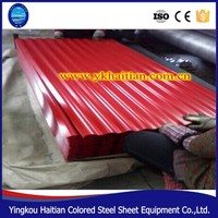 China colorful metal roofing sheets /glazed roofing / zinc steel stone coated roofing tile