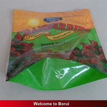 Bird feeding food packaging bag with slide zip lock/high quality printing stand up zipper bag
