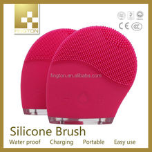 New Products 2015 as seen on TV personal massager/silicone facial brush