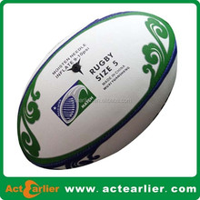 cheap hign quality custom design pu rugby ball