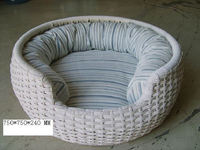 Hot sale Outdoor All Weather dog bed rattan