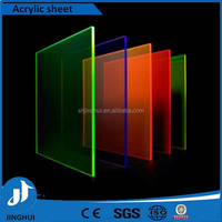 advertising material high gloss acrylic color pmma sheet