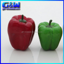 Factory Direct Plastic Crafts Fake Chili Cheap Artificial Vegetables Green Peppers for Home Indoor Decor