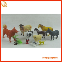 toy animals supermarket play set Cute cheap realistic farm toy animals figurines toys set AN1028666E-38