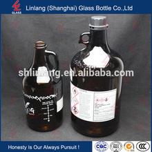 Por encargo de la nueva diseñado gran volumen profesional botella de vidrio