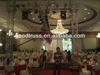 stage decoration wedding truss pillar