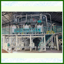 fully complete rice/ wheat maize milling small scale flour milling machinery plant
