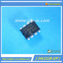 IC original 24LC128-I/P(transistor) DIP-8