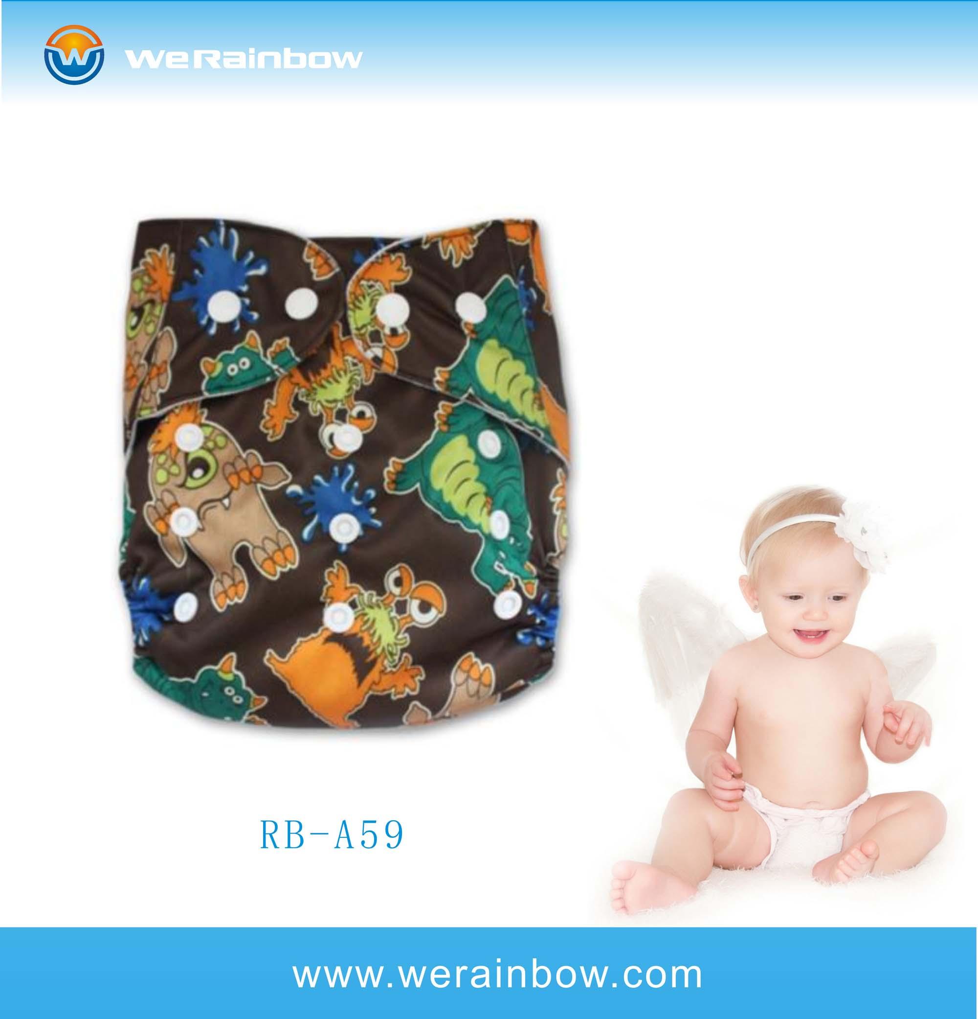 Organic Prefold Bamboo Sunny Baby Cloth Diaper - Buy Sunny ...