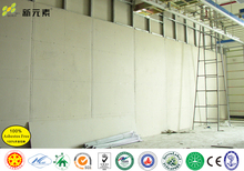 High performance fire protection system, calcium silicate