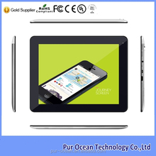 9 .7 inch Quad core built-in gps 3g wifi touch screen tablet pc for android 4.2