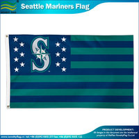 polyester 3x5ft Seattle Mariners flag MBL