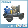 P self priming portable diesel engine water pump set