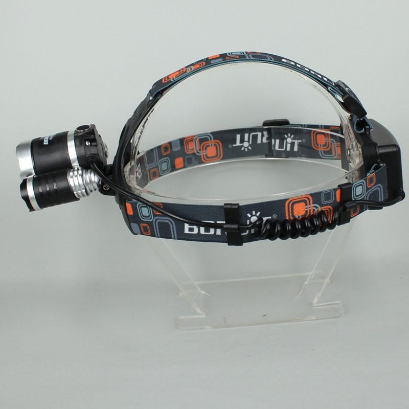 Налобный фонарь OEM 3 x CREE xm/l T6 5000Lm USB HL01